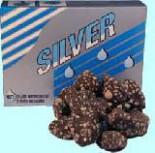 Насыщенные серебром камни