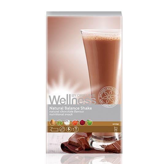 Сухая смесь для коктейля «Нэчурал Баланс» натуральный шоколадный вкус 378 гр.