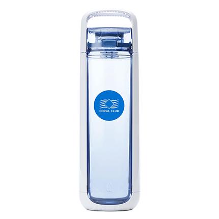 Бутылка для воды Coral Bottle One 750 бело-голубая