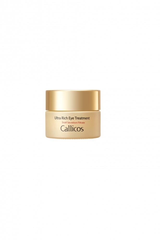 Callicos Ultra Rich Eye Treatment/Насыщенный крем для кожи вокруг глаз с экстрактом слизи улитки 30 мл